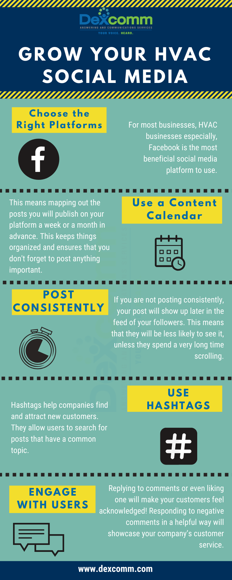 Grow your hvac social media