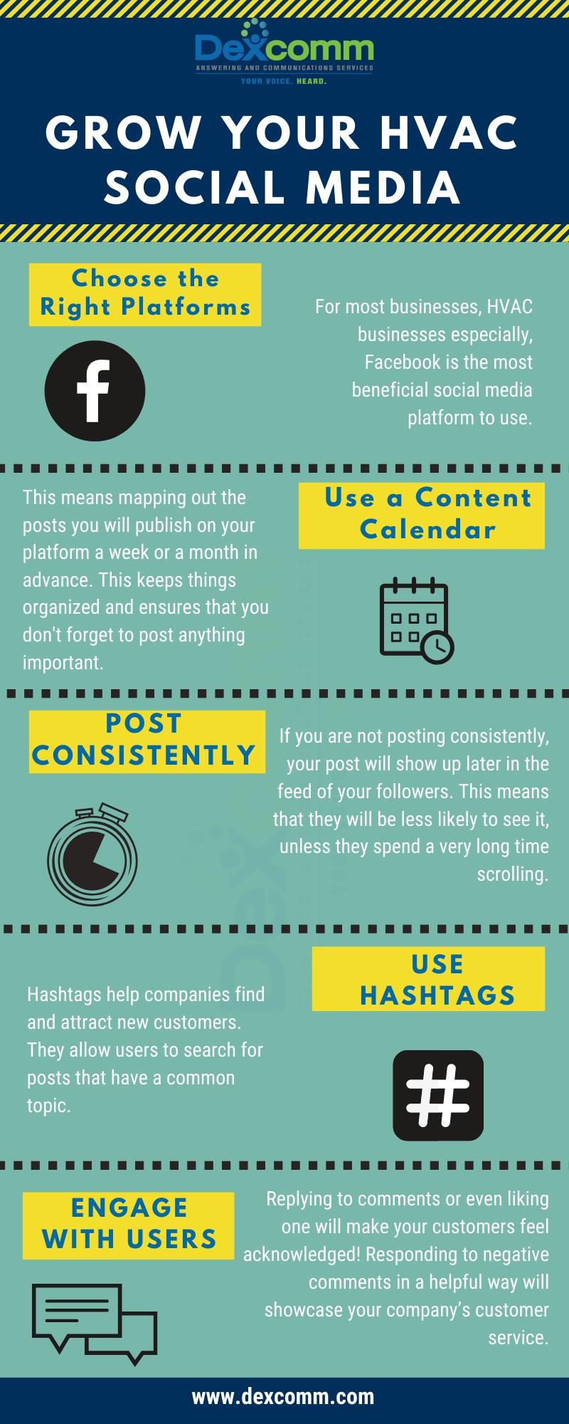 Grow your hvac social media