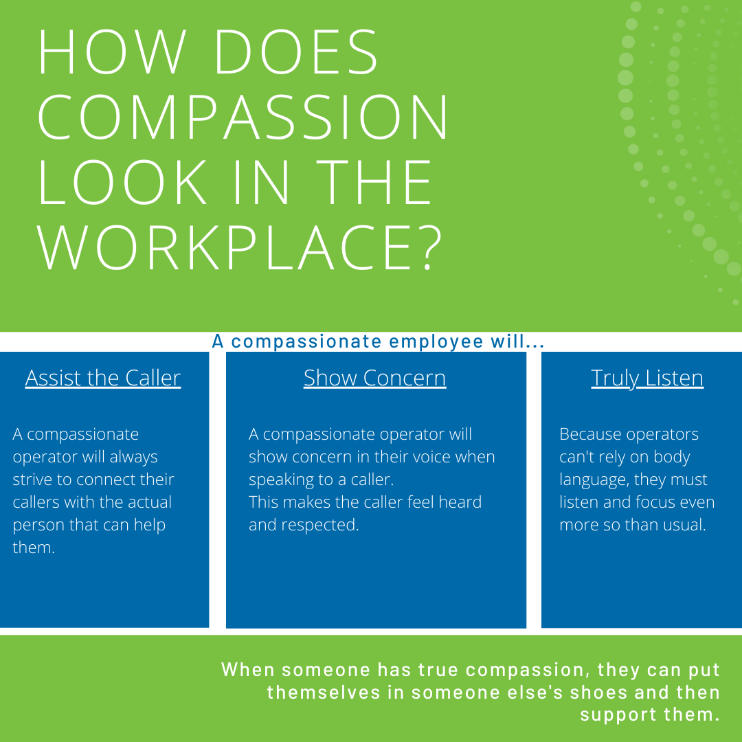 How does compassion look in the workplace?