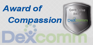 Dexcomm Core Value Award of Compassion