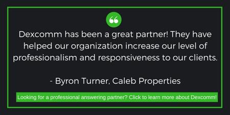 Professional Answering Partner CTA